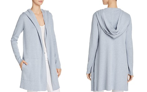 Minnie Rose Hooded Open-Front Cardigan - Bloomingdale's_2