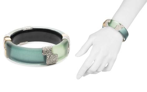 Alexis Bittar Crystal Embellished Color Block Hinge Bracelet - Bloomingdale's_2