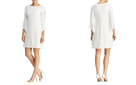 Lauren Ralph Lauren Petites Bell-Sleeve Crepe Dress - Bloomingdale's_2