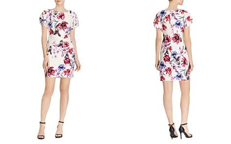 Lauren Ralph Lauren Petites Flutter-Sleeve Floral Jersey Dress - Bloomingdale's_2