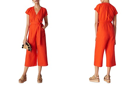 Whistles Etta Cropped Jumpsuit - Bloomingdale's_2