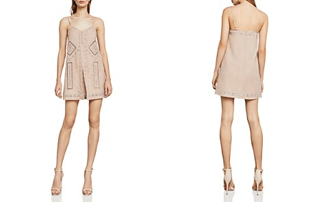 BCBGMAXAZRIA Hartley Embroidered Romper - Bloomingdale's_2