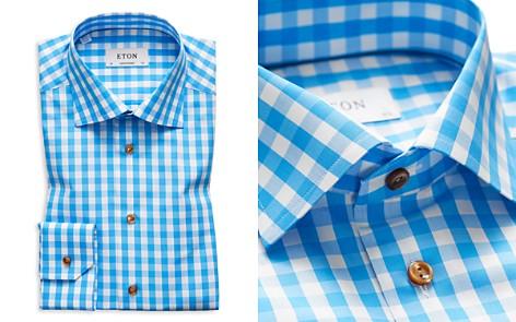 Eton Gingham Regular Fit Dress Shirt - Bloomingdale's_2