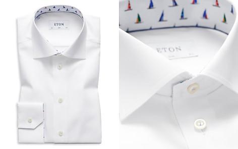 Eton Sailboat Trim Slim Fit Dress Shirt - Bloomingdale's_2