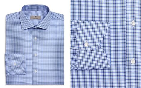 Canali Multi Check Regular Fit Dress Shirt - Bloomingdale's_2