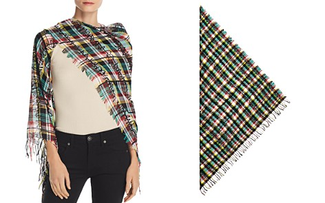 Burberry Fringe Scribble Check Scarf - Bloomingdale's_2