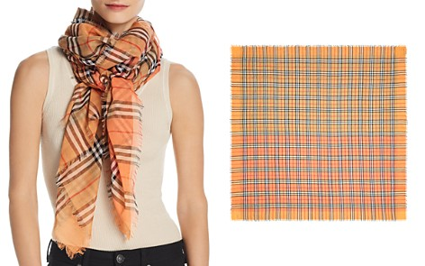 Burberry Color-Block Vintage Check Scarf - Bloomingdale's_2