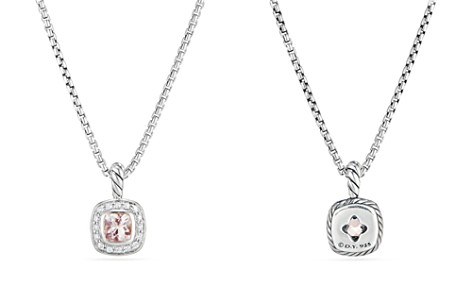 David Yurman Albion Kids Necklace with Morganite & Diamonds - Bloomingdale's_2