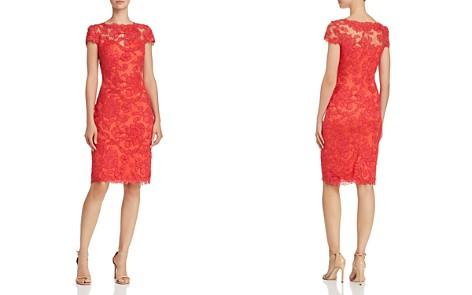 Tadashi Shoji Cap-Sleeve Lace Dress - Bloomingdale's_2