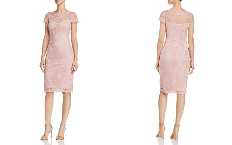 Tadashi Shoji Petites Embroidered Lace Sheath Dress - Bloomingdale's_2