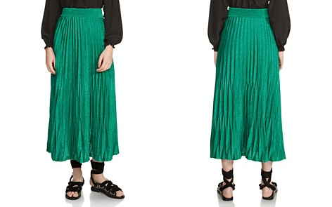Maje Jupette Pleated Maxi Skirt - Bloomingdale's_2