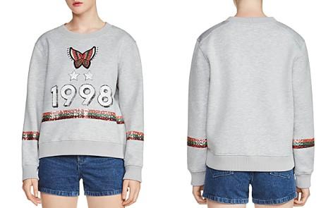 Maje Talia Embellished Sweatshirt - Bloomingdale's_2