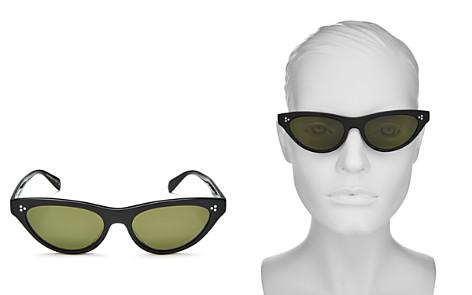 Oliver Peoples Zasia Cat Eye Sunglasses, 53mm - Bloomingdale's_2