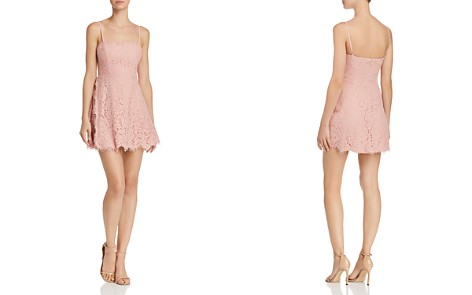 Fame and Partners Fiona Lace Mini Dress - 100% Exclusive - Bloomingdale's_2