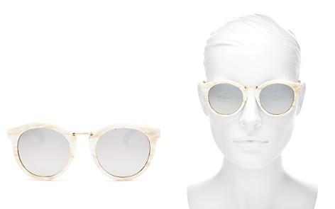 kate spade new york Women's Joylyn Mirrored Round Sunglasses, 50mm - Bloomingdale's_2