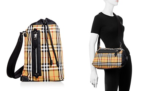 Burberry Small Vintage Check Duffle Bag - Bloomingdale's_2