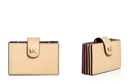 Michael Kors Money Pieces Embossed Leather Card Case - Bloomingdale's_2