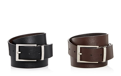 HUGO Reming Reversible Leather Belt - Bloomingdale's_2