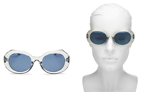 Polaroid Women's Polarized Round Sunglasses, 52mm - Bloomingdale's_2