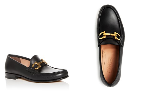 Salvatore Ferragamo Men's Bond Leather Moc Toe Loafers - Bloomingdale's_2