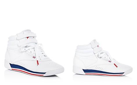 Reebok Women's Freestyle Retro Leather High Top Sneakers - Bloomingdale's_2