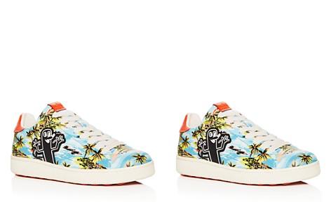 COACH x Keith Haring Men's C101 Tropical Print Leather Sneakers - Bloomingdale's_2