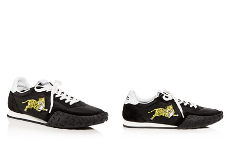 Kenzo Women's Tiger Appliqué Quilted Lace Up Sneakers - Bloomingdale's_2