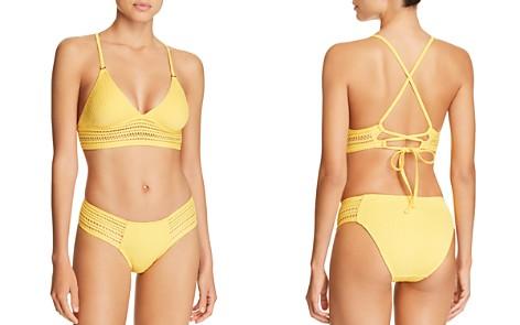 Robin Piccone Perla Triangle Bikini Top & Perla Side Tab Bikini Bottom - Bloomingdale's_2
