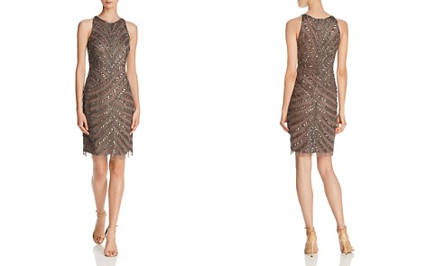 Adrianna Papell Embellished Cocktail Dress - Bloomingdale's_2
