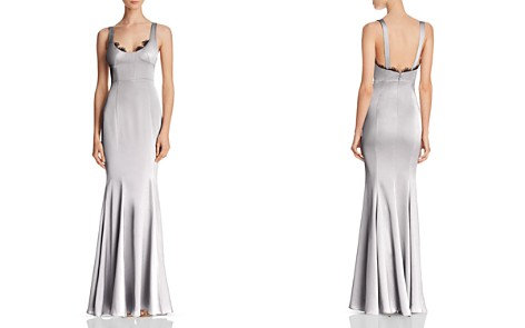 Fame and Partners Ara Satin Gown - 100% Exclusive - Bloomingdale's_2