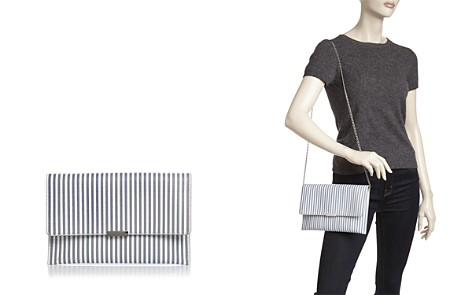 Loeffler Randall Striped Leather Convertible Envelope Clutch - 100% Exclusive - Bloomingdale's_2