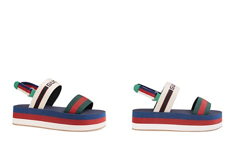 Gucci Women's Bedlam Stripe Platform Sandals - Bloomingdale's_2