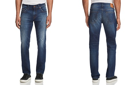 True Religion Geno Slim Straight Jeans in Suspect - Bloomingdale's_2