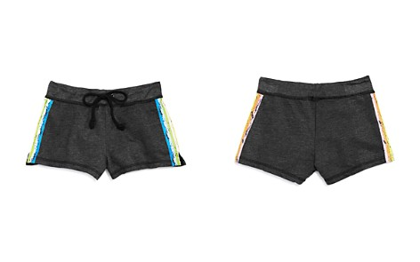 So Nikki... Girls' Rainbow Stripe Shorts - Big Kid - Bloomingdale's_2