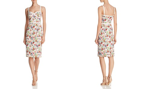 Black Halo Daria Floral Dress - Bloomingdale's_2