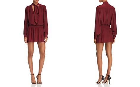 Ramy Brook Winslow Tie-Neck Mini Dress - Bloomingdale's_2