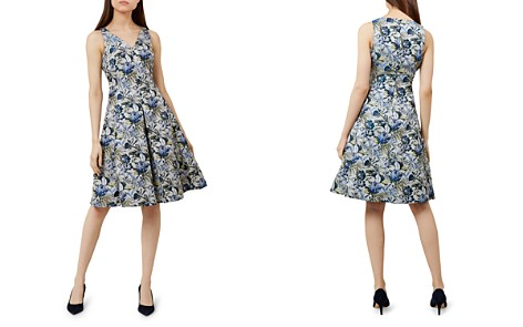 HOBBS LONDON Royal Chrysanthemum Fit-and-Flare Dress - Bloomingdale's_2
