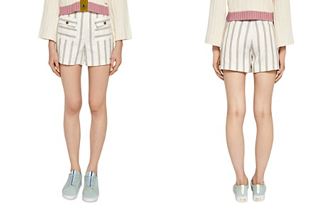 Ted Baker Colour By Numbers Helenn Striped Shorts - Bloomingdale's_2
