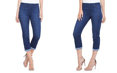 Liverpool Chloe Crop Slim Jeans in Griffith Super Dark - Bloomingdale's_2