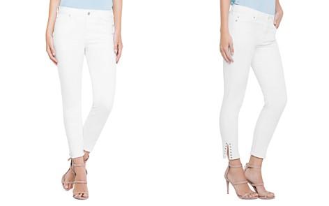 Liverpool Maya Grommet Ankle Skinny Jeans in Bright White - Bloomingdale's_2