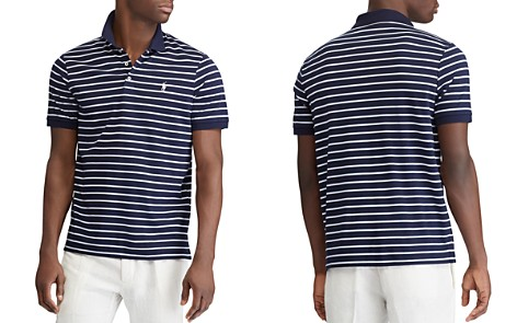 Polo Ralph Lauren Polo Striped Classic Fit Mesh Polo Shirt - Bloomingdale's_2