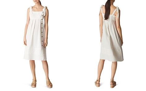 Whistles Button Detail Linen Dress - Bloomingdale's_2