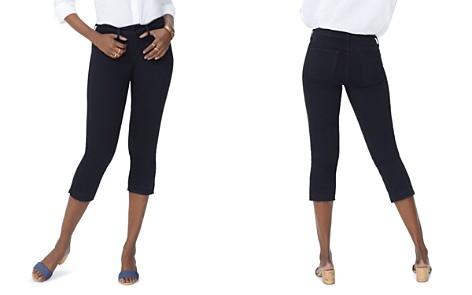 NYDJ Petites Released-Hem Capri Jeans in Black - Bloomingdale's_2