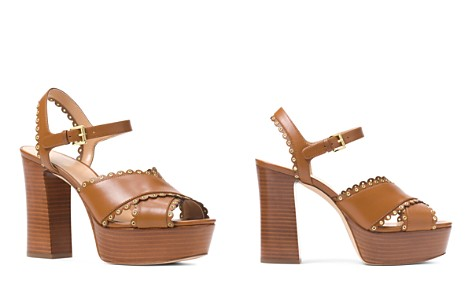 MICHAEL Michael Kors Women's Jessie Scalloped Leather Platform Block Heel Sandals - Bloomingdale's_2