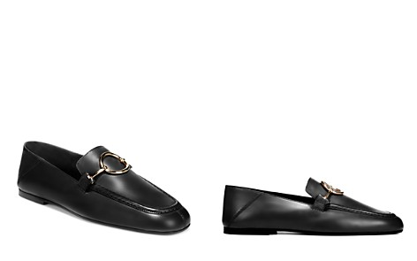 Via Spiga Women's Abby Leather Loafers - Bloomingdale's_2