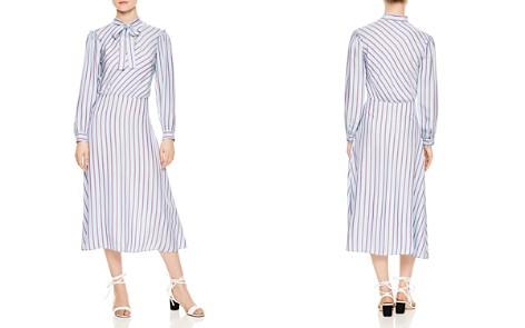 Sandro Tame Striped Midi Dress - Bloomingdale's_2