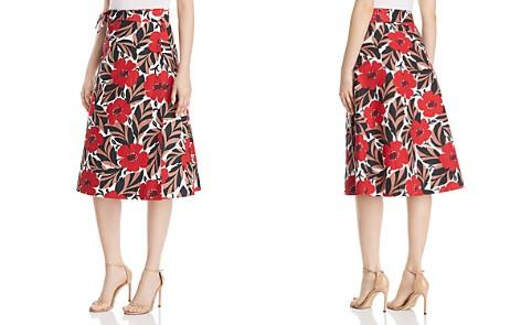 kate spade new york Poppy Field Wrap Skirt - Bloomingdale's_2
