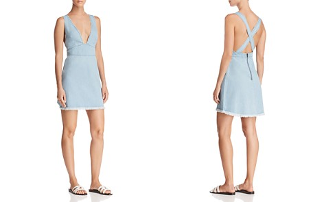 Show Me Your MuMu Knoxville Chambray Dress - Bloomingdale's_2