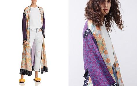 Elizabeth and James Shawna Floral Silk Robe - Bloomingdale's_2
