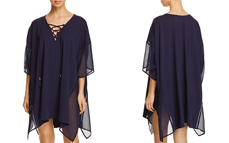Tommy Bahama Lace-Up Tunic Swim Cover-Up - Bloomingdale's_2
